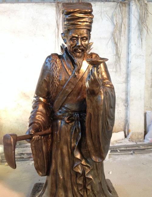 玻璃钢人物雕塑名医华佗