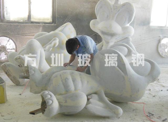 玻璃钢恐龙雕塑