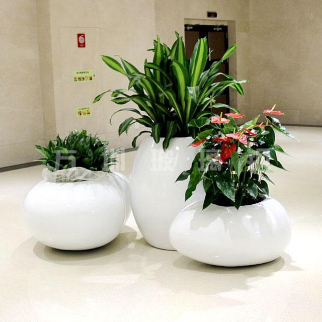 玻璃钢创意组合花盆