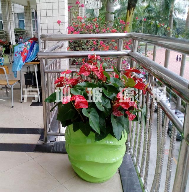 玻璃钢室外花盆