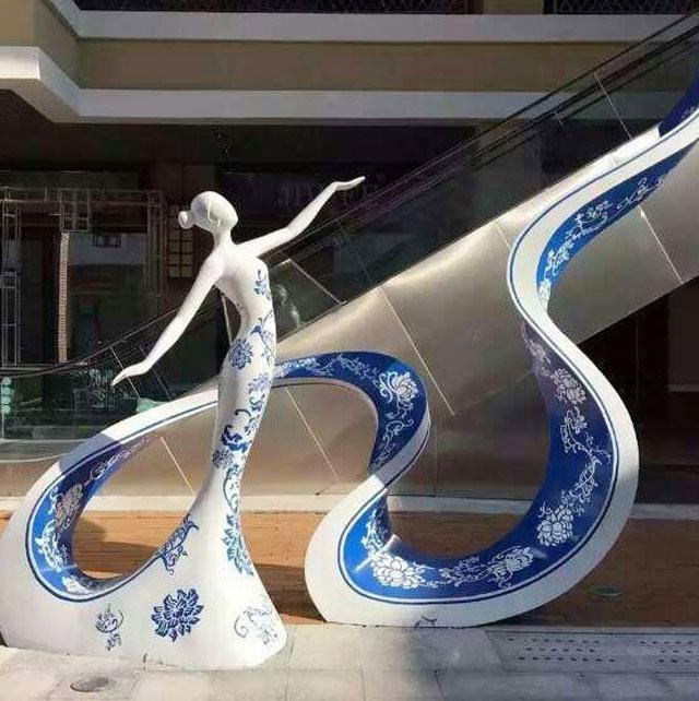 玻璃钢城市景观雕塑