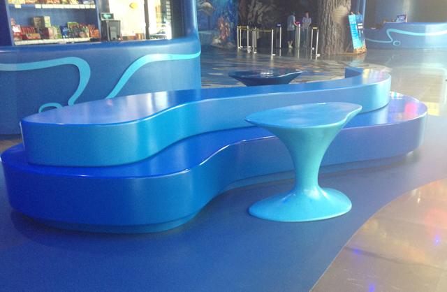 玻璃钢创意休闲椅