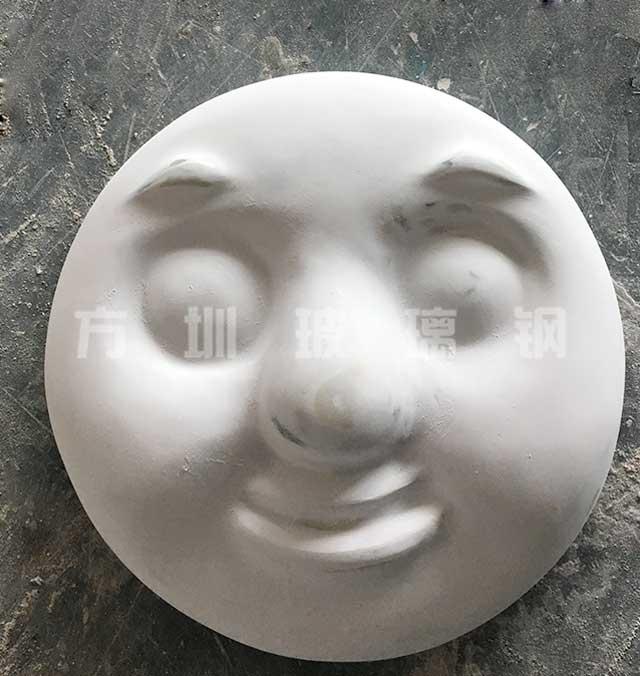 玻璃钢托马斯面具雕塑