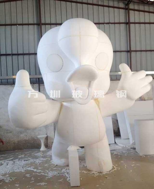"""玻璃钢卡通雕塑""""腾腾"""""""