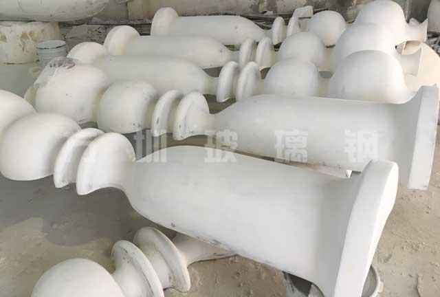 玻璃钢造型柱雕塑