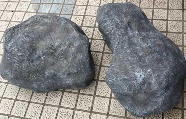 玻璃钢仿真石头雕塑