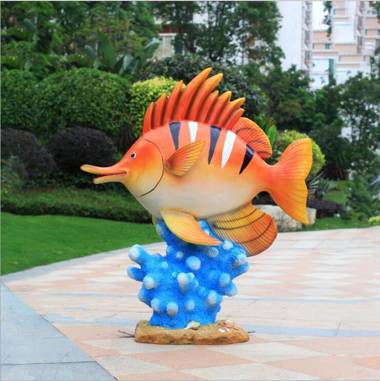 玻璃钢景观雕塑鱼
