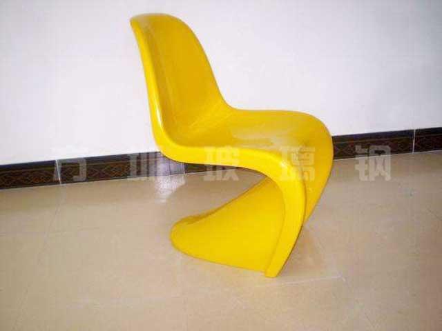 玻璃钢美陈休闲坐凳