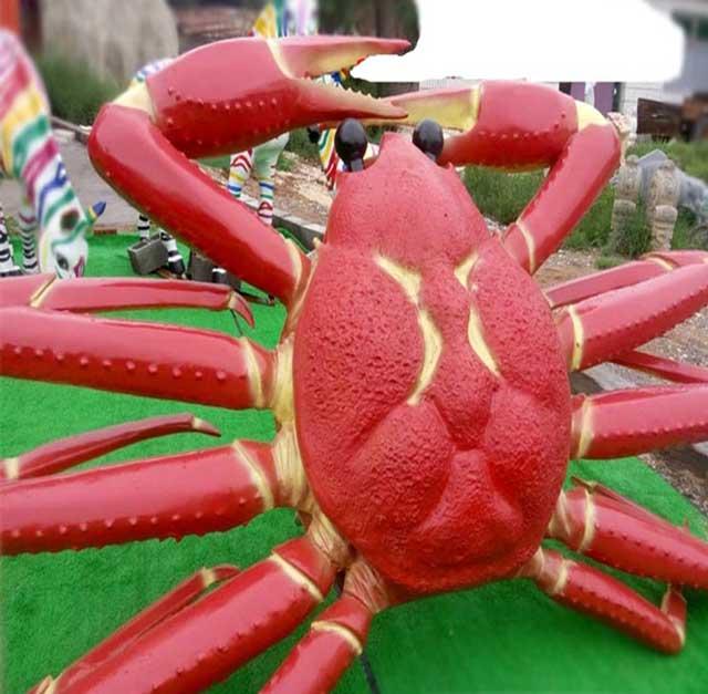 玻璃钢景观雕塑螃蟹
