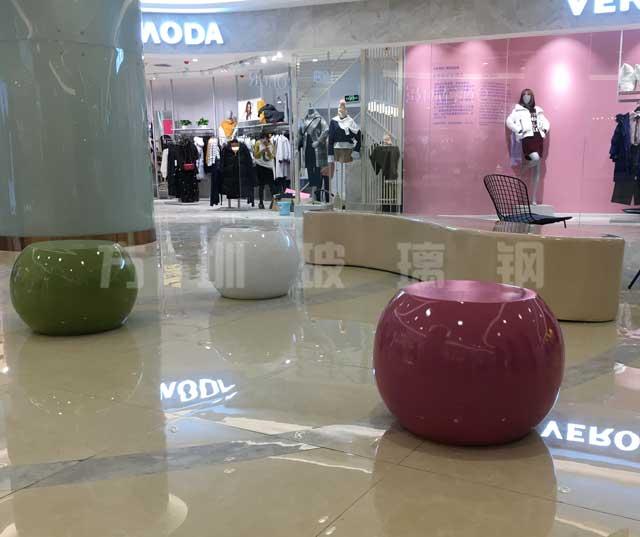 玻璃钢苹果凳