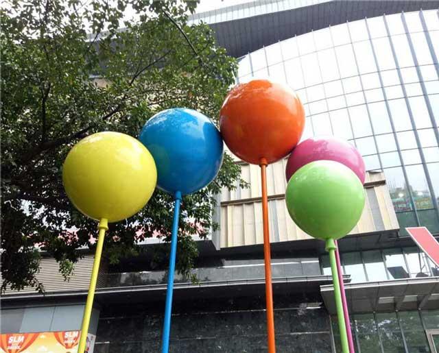 玻璃钢美陈气球雕塑