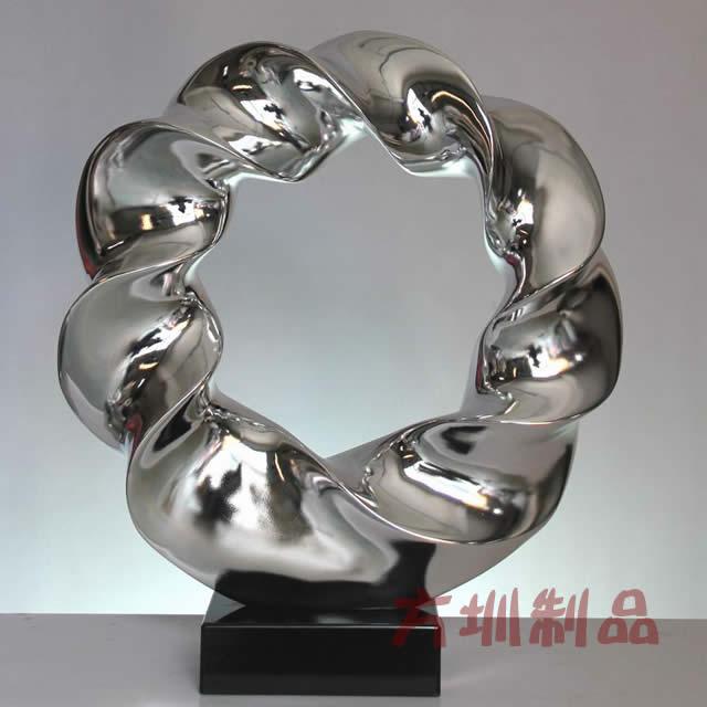 抽象小型不锈钢雕塑厂家样品