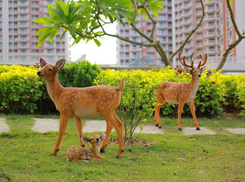 户外广场仿真动物雕塑