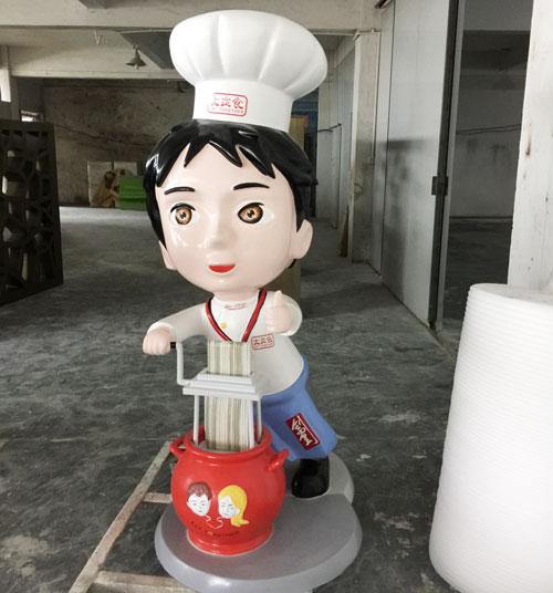 深圳玻璃钢卡通美陈雕塑