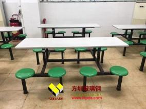食堂餐座椅玻璃钢雕塑厂家定制