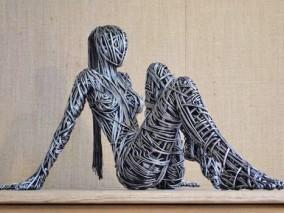 铁艺创意人物雕塑