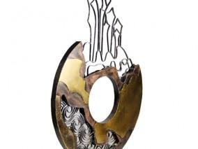 创意铁艺摆件雕塑